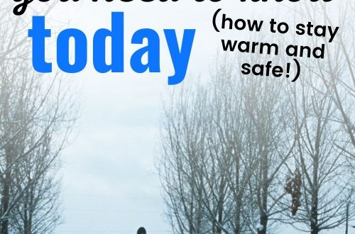 Person walking in snow text overlay 10 Genius Winter Hiking Tips You Need to Know Today